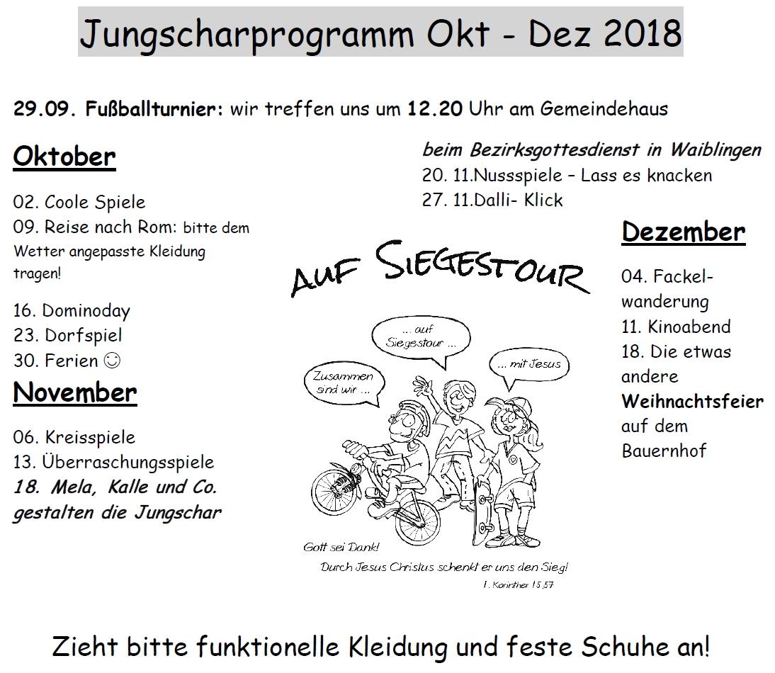 Jungschar | Landeskirchliche Gemeinschaft Beinstein